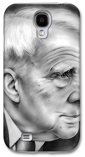Robert Frost Galaxy S4 Case by Greg Joens