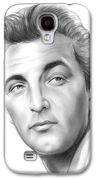 Robert Mitchum Galaxy S4 Case by Greg Joens