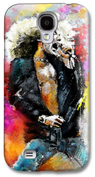 Robert Plant 03 Galaxy S4 Case by Miki De Goodaboom