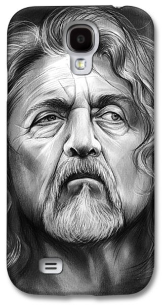Robert Plant Galaxy S4 Case by Greg Joens
