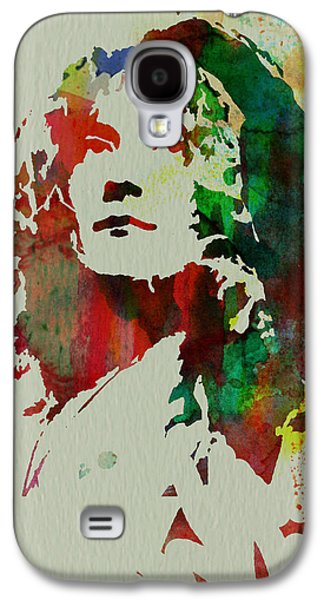 Robert Plant Galaxy S4 Case by Naxart Studio