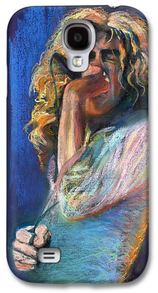 Robert Plant Galaxy S4 Case - Robert Plant by Laurie VanBalen