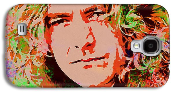 Robert Plant Galaxy S4 Case by Sergey Lukashin