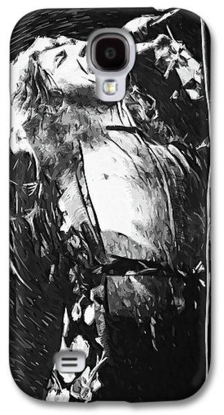 Robert Plant Galaxy S4 Case - Robert Plant by Taylan Apukovska