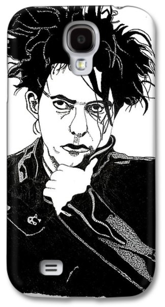 Robert Smith Music Galaxy S4 Case - Robert Smith 1 by Christine Perry