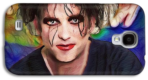 Robert Smith Music Galaxy S4 Case - Robert Smith A Good Soul Large Vers by Robert Radmore