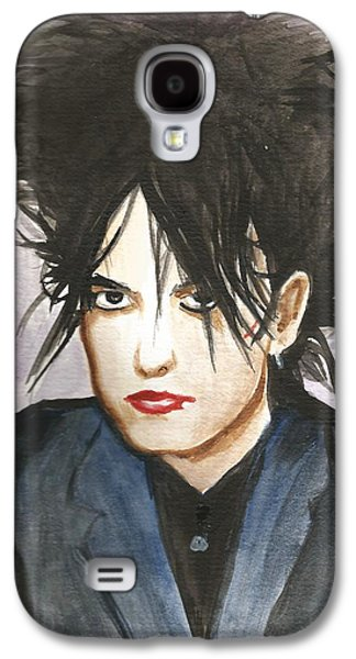 Robert Smith Music Galaxy S4 Case - Robert Smith by Amber Stanford