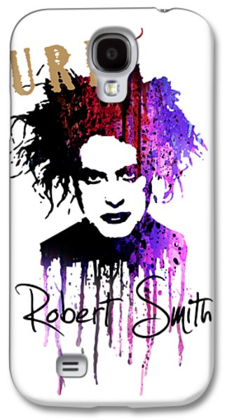 Robert Smith Music Galaxy S4 Case - Robert Smith by Art Popop