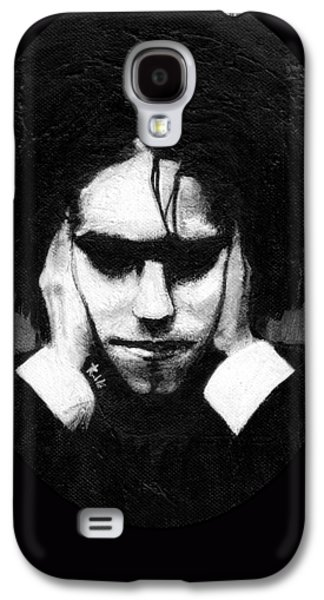 Robert Smith Music Galaxy S4 Case - Robert Smith by Rouble Rust