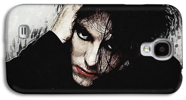 Robert Smith Music Galaxy S4 Case - Robert Smith - The Cure  by Zapista