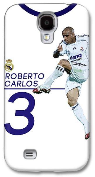 Roberto Carlos Galaxy S4 Case by Semih Yurdabak