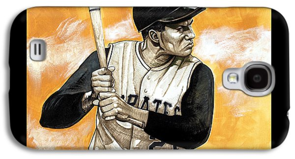 Roberto Clemente Galaxy S4 Case by Dave Olsen