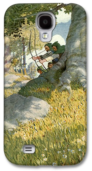 Robin Hood And His Companions Rescue Will Stutely Galaxy S4 Case