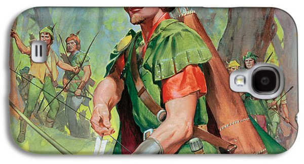 Robin Hood Galaxy S4 Case by James Edwin McConnell