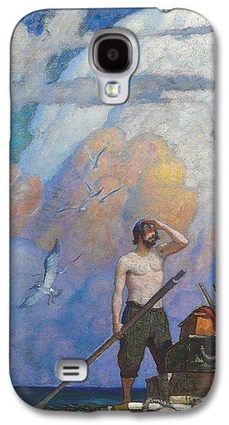 Robinson Crusoe Galaxy S4 Case