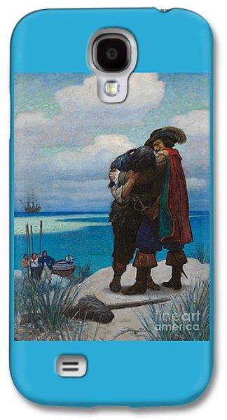 Robinson Crusoe Saved Galaxy S4 Case by Newell Convers Wyeth