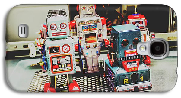 Robots Of Retro Cool Galaxy S4 Case