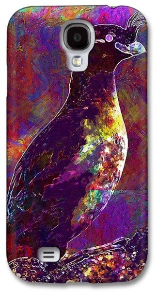 Rock Bird Auklet Crested Birds  Galaxy S4 Case