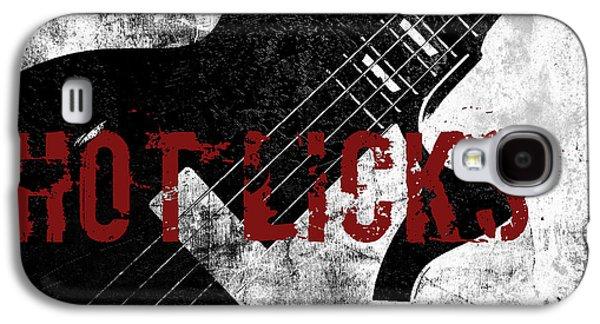 Rock N Roll Guitar Galaxy S4 Case