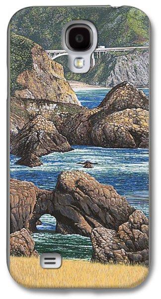 Rock Point Bridge Big Sur Galaxy S4 Case
