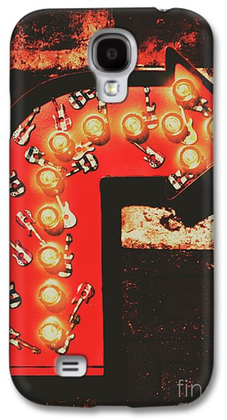 Galaxy S4 Case featuring the photograph Rock Through This Way by Jorgo Photography - Wall Art Gallery