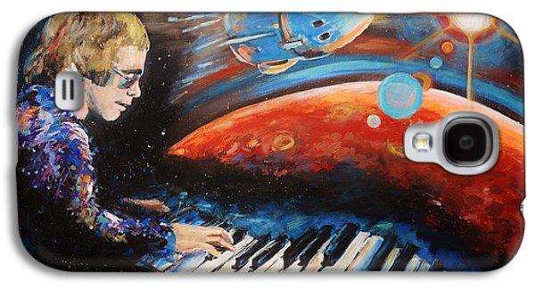 Rocket Man Galaxy S4 Case by Shannon Lee