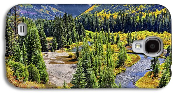 Rockies And Aspens - Colorful Colorado - Telluride Galaxy S4 Case