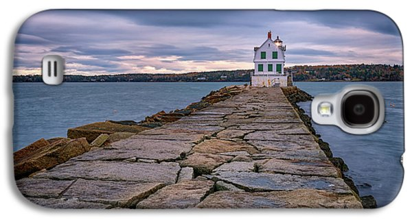Rockland Harbor Breakwater Light Galaxy S4 Case