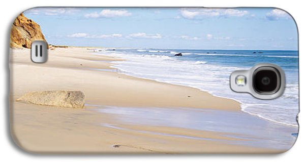 Rocks On The Beach, Lucy Vincent Beach Galaxy S4 Case by Panoramic Images