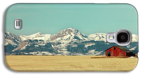 Rocky Mountain Barn Galaxy S4 Case