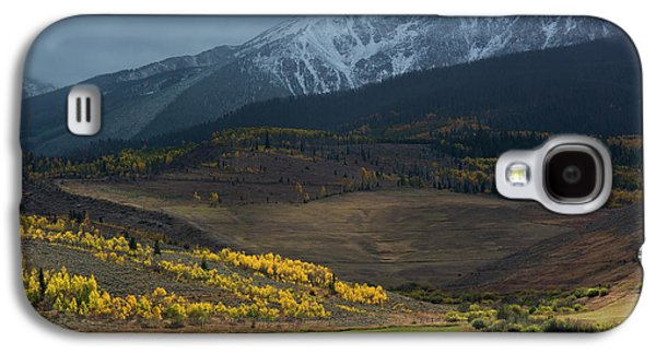 Galaxy S4 Case featuring the photograph Rocky Mountain Horses by Aaron Spong