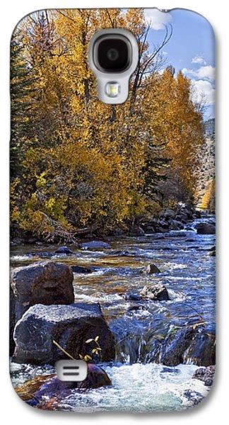 Kelley King Galaxy S4 Cases - Rocky Mountain Water 8 x 10 Galaxy S4 Case by Kelley King
