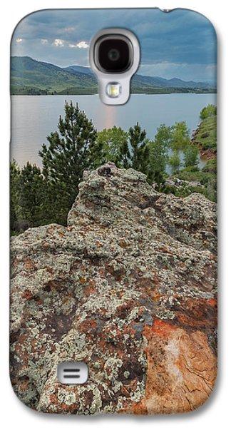 Rocky Overlook At Horsetooth Reservoir Galaxy S4 Case