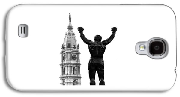 Rocky - Philly's Champ Galaxy S4 Case by Bill Cannon