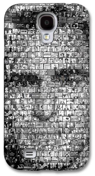 Rod Serling Twilight Zone Mosaic Galaxy S4 Case by Paul Van Scott