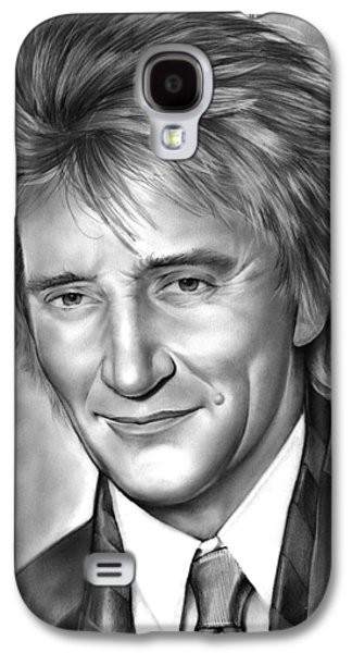 Rock And Roll Galaxy S4 Case - Rod Stewart by Greg Joens