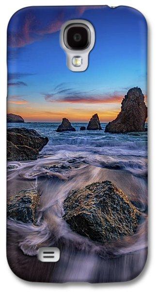 Rodeo Beach Sunset Galaxy S4 Case by Rick Berk