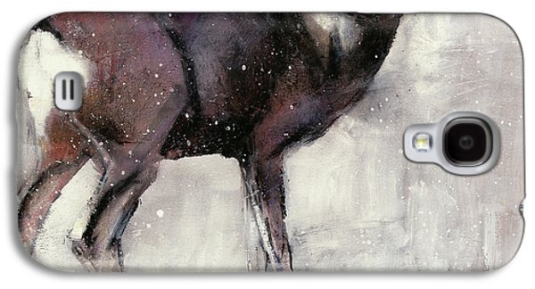 Roe Doe Galaxy S4 Case by Mark Adlington