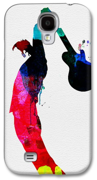 Roger Watercolor Galaxy S4 Case by Naxart Studio