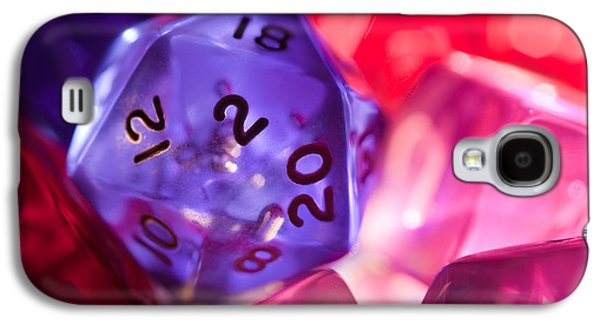 Role-playing D20 Dice Galaxy S4 Case by Marc Garrido