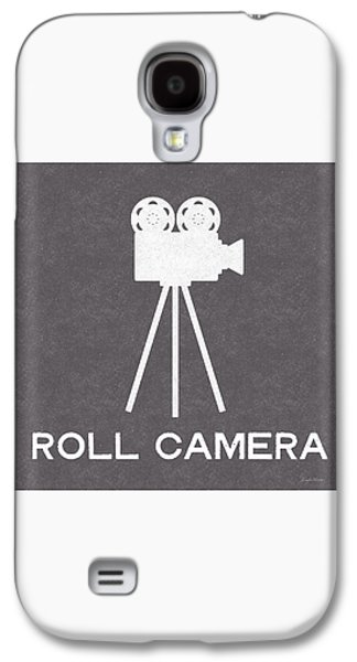 Roll Camera- Art By Linda Woods Galaxy S4 Case by Linda Woods