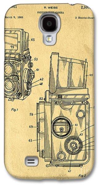 Rolleiflex Medium Format Twin Lens Reflex Tlr Patent Galaxy S4 Case
