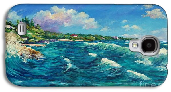 Rolling Waves At Prospect Reef Galaxy S4 Case