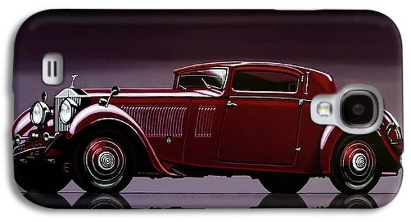 Rolls Royce Phantom 1933 Painting Galaxy S4 Case