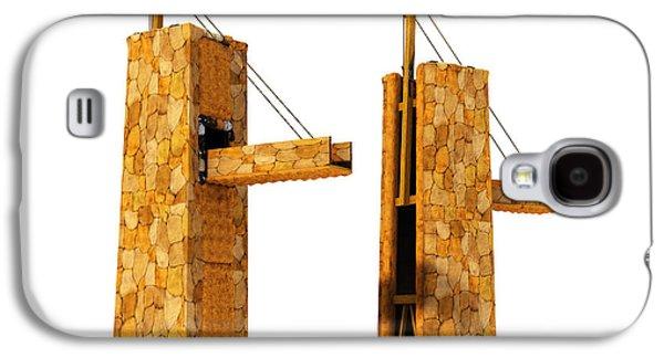 Roman Legionary Siege Tower 1st Century Ad Galaxy S4 Case