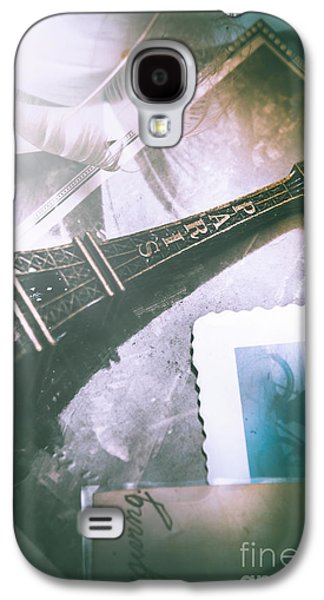 Romantic Paris Memory Galaxy S4 Case