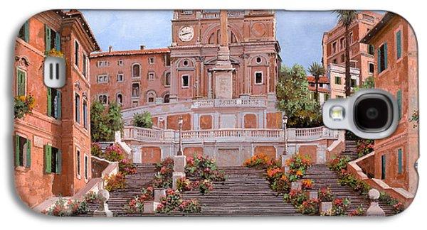 Rome-piazza Di Spagna Galaxy S4 Case by Guido Borelli