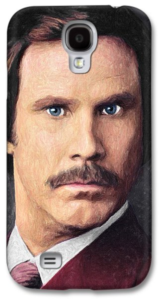 Ron Burgundy Galaxy S4 Case