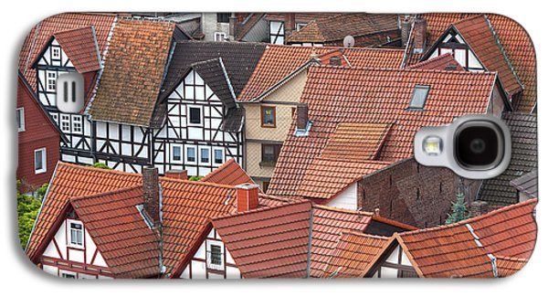 Deutschland Galaxy S4 Cases - Roofs of Bad Sooden-Allendorf Galaxy S4 Case by Heiko Koehrer-Wagner