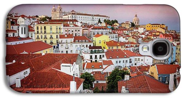 Rooftops Of Alfama Lisbon  Galaxy S4 Case by Carol Japp